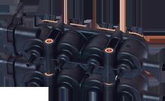 Listwa wtryskowa 4 cylindry LANDIRENZO OMEGAS LPG / CNG