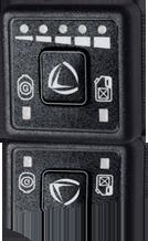 Przełącznik benzyna-gaz LANDIRENZO OMEGAS LPG / CNG , EVO LPG / CNG